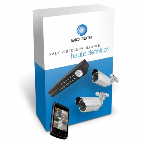 Pack Vidéosurveillance HD